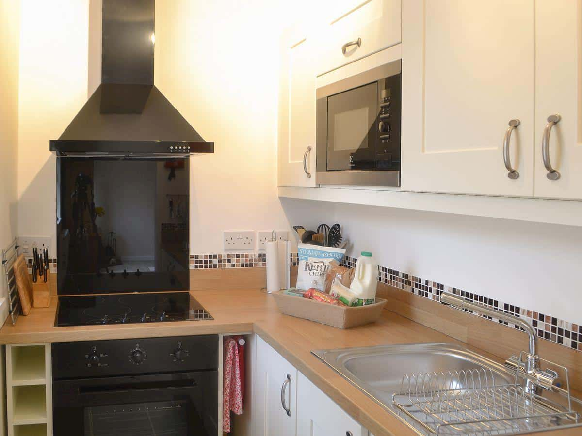 Kitchen of Drakestone Cottage, Northumberland. One of Karen's Kottages.