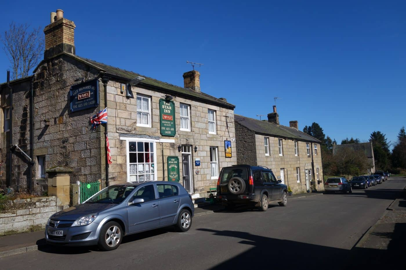 The Star pub in Harbottle, Northumberland - Karen's Kottages holiday cottage