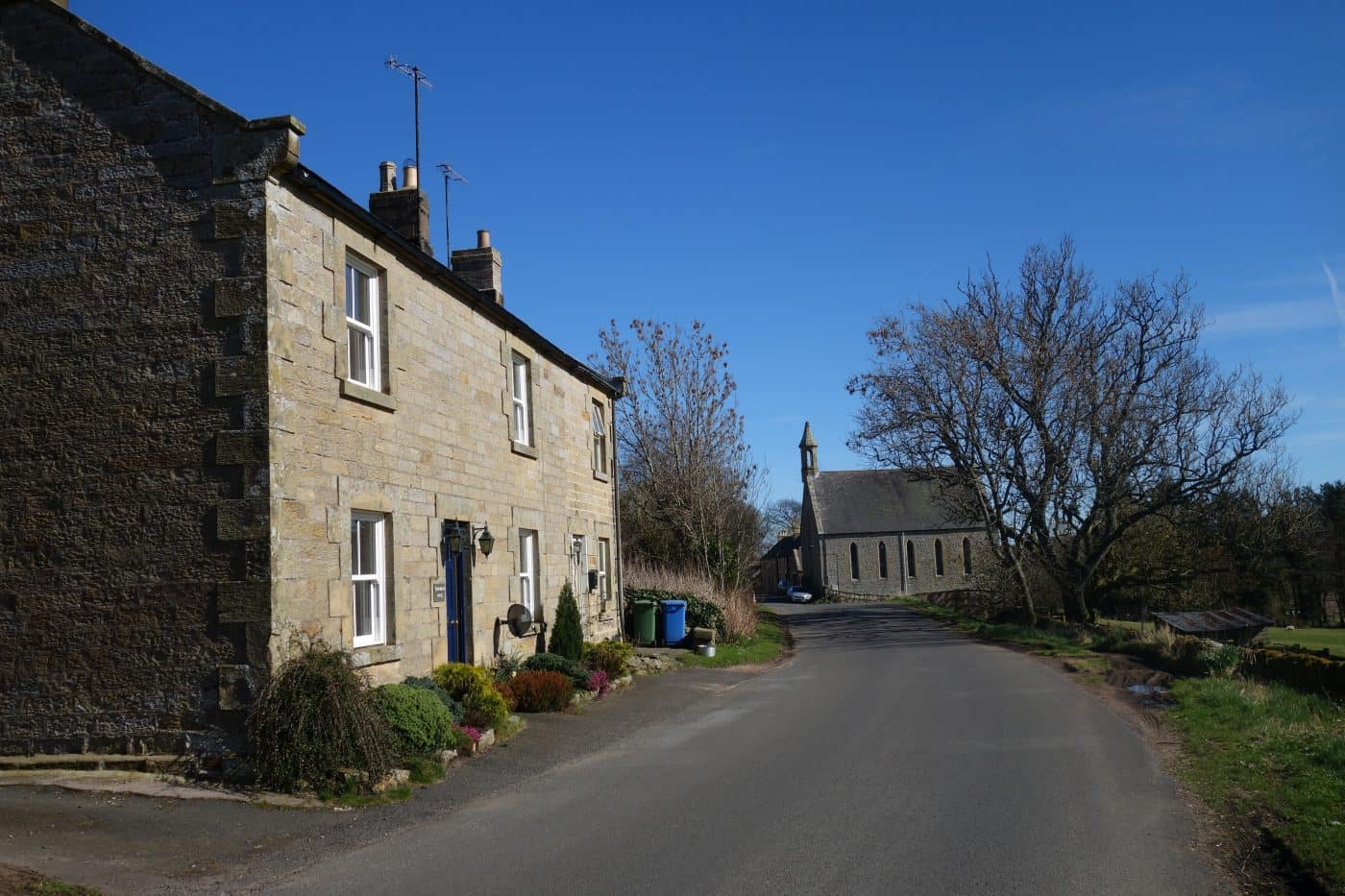 Harbottle village in Northumberland - Karen's Kottages holiday cottage