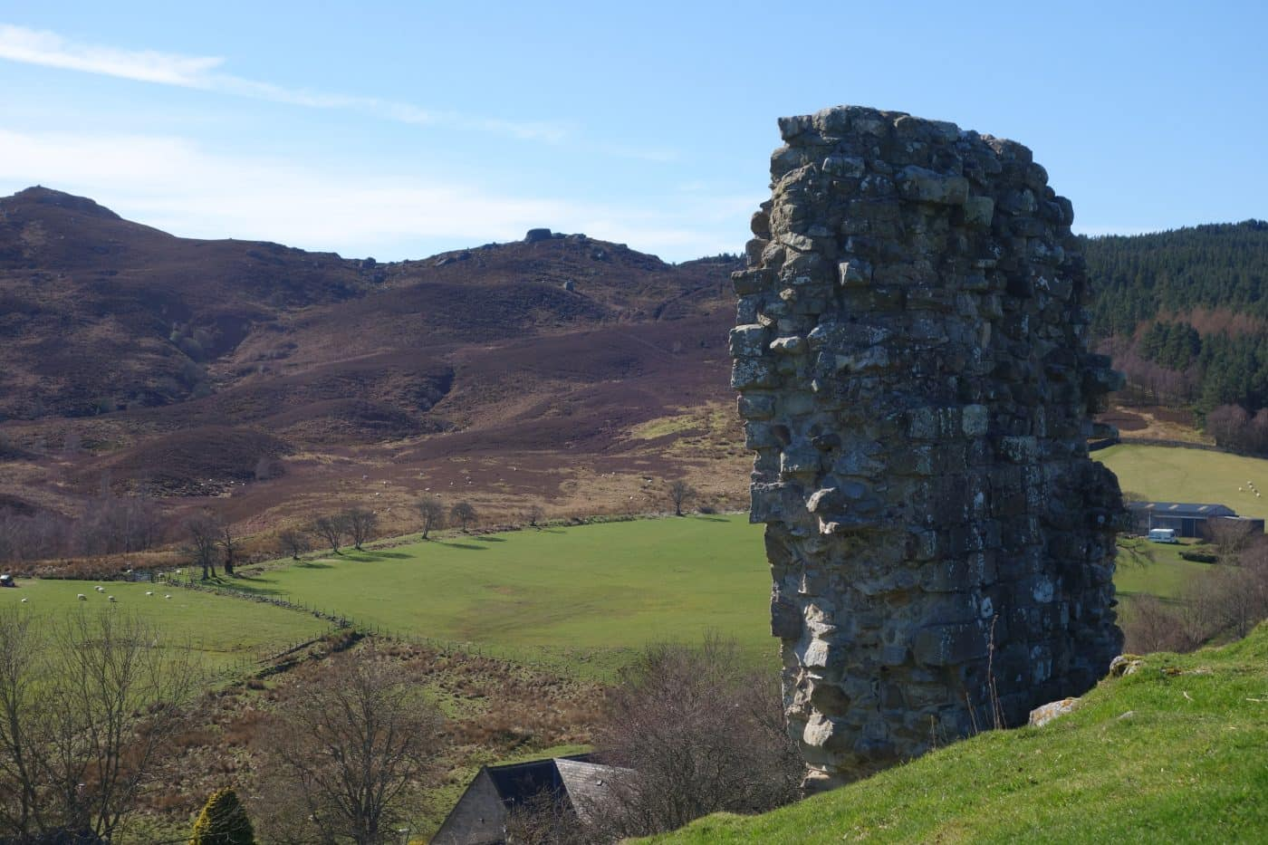 The Drake Stone from Harbottle Castle in Northumberland - Karen's Kottages holiday cottage