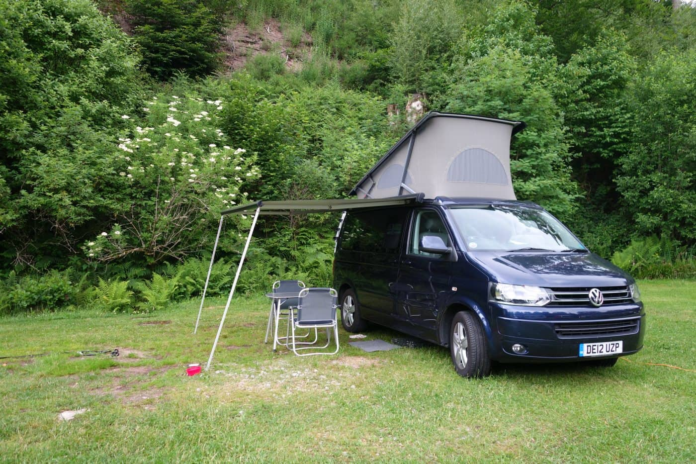 VW California camper