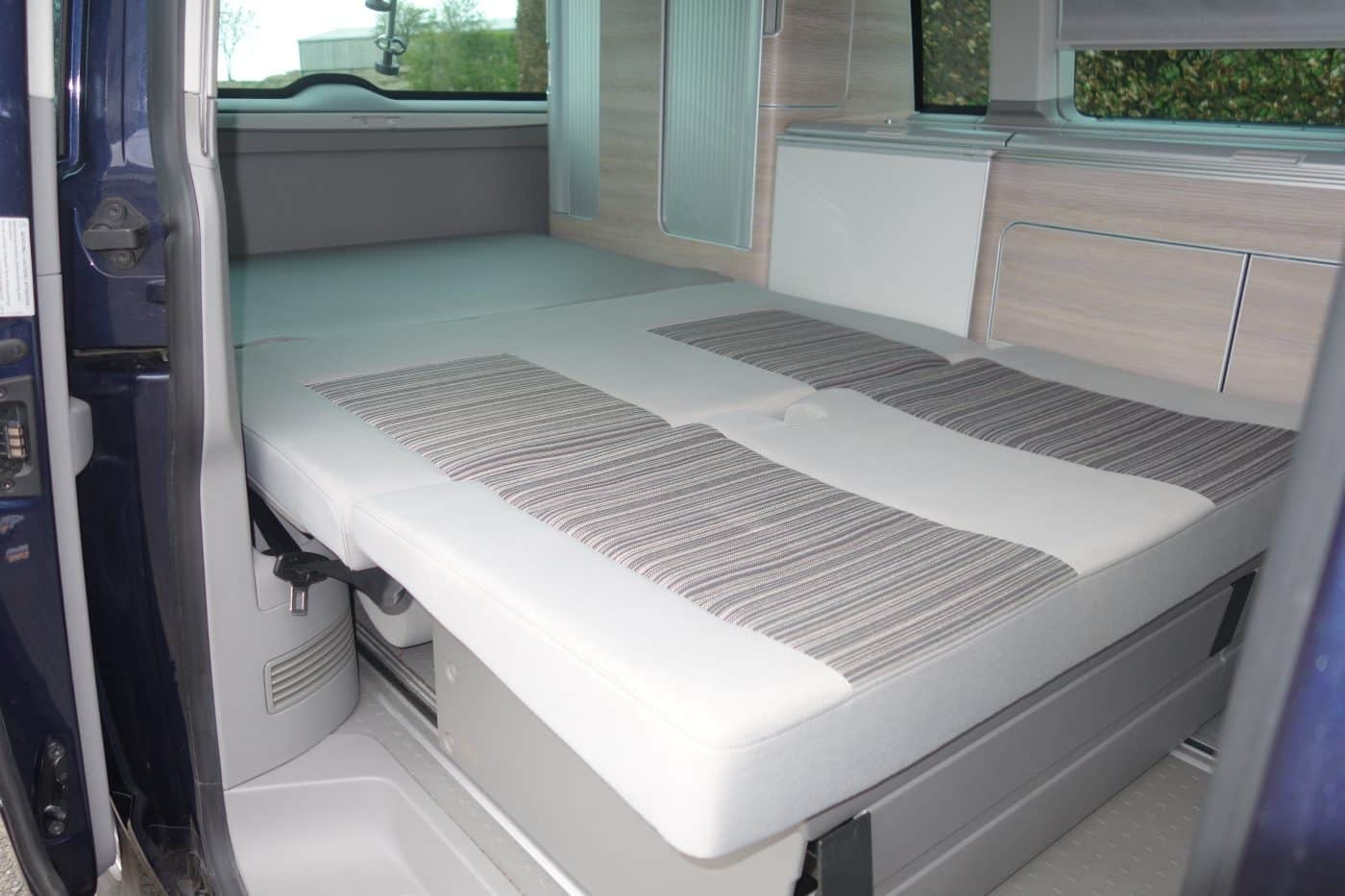 VW camper van bed