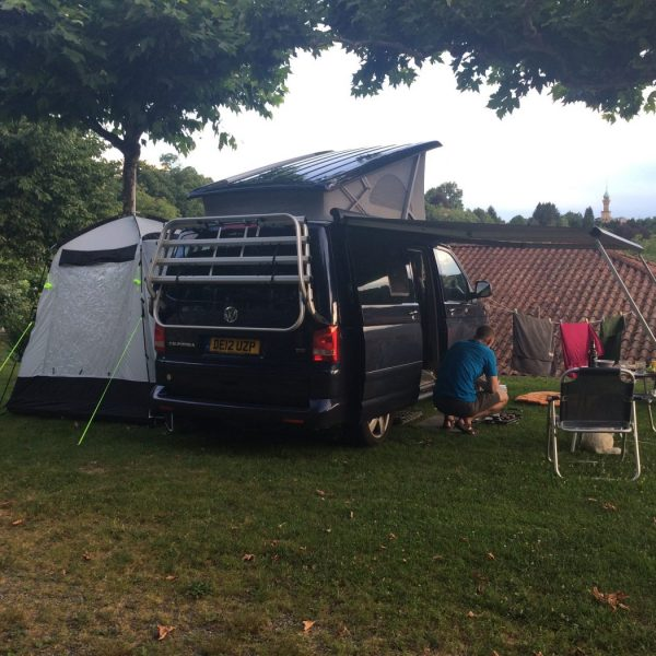 VW California camper van hire