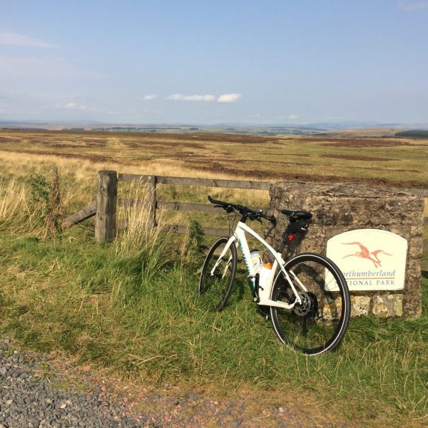 Cycling Northumberland National Park