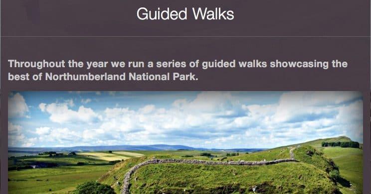Dog Walks Northumberland National Park