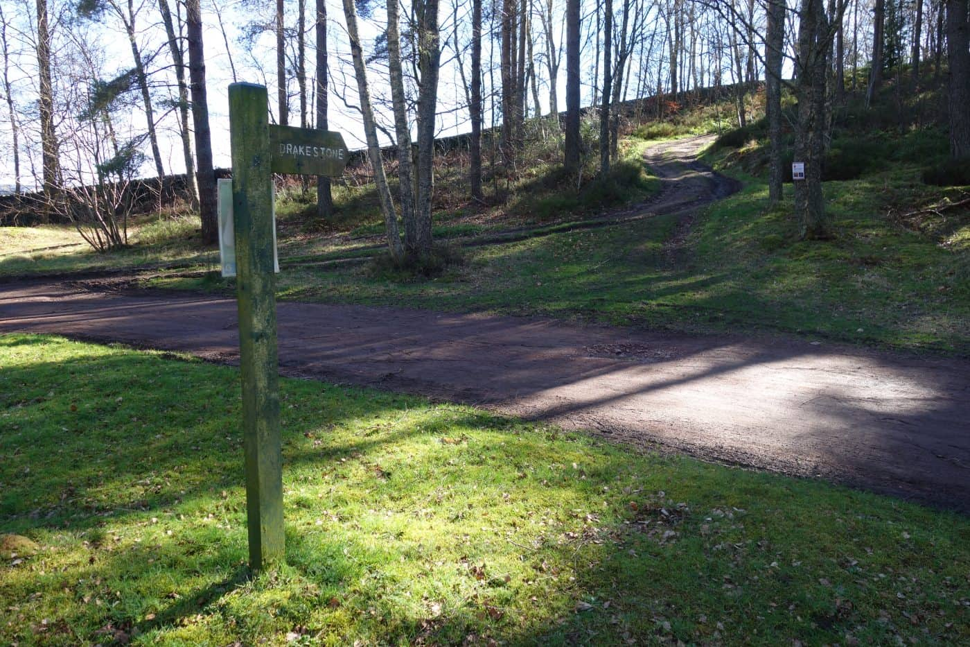 Harbottle forest leading to The Drake Stone in Northumberland - Karen's Kottages holiday cottage