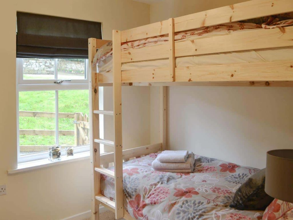 Second bedroom of Drakestone Cottage, Northumberland. One of Karen's Kottages.