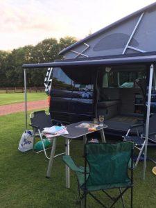 vw campervan hire northumberland