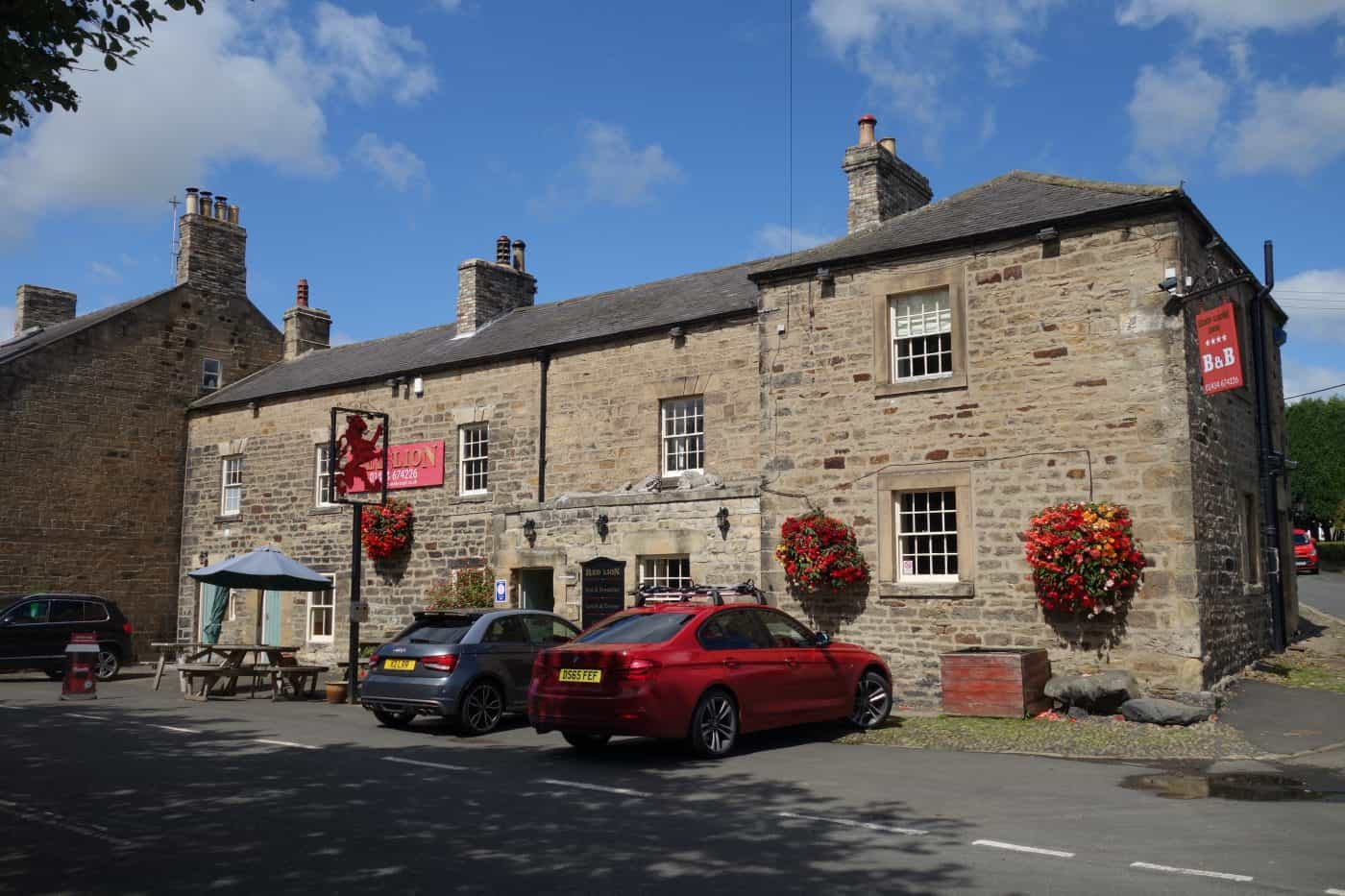 Pub in Newbrough in Northumberland for Karen's Kottages holiday cottage