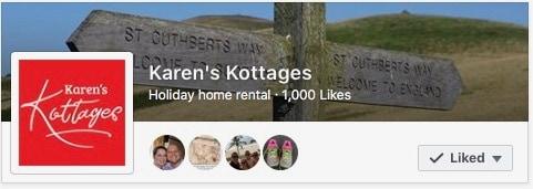 1,000 Facebook 'likes'