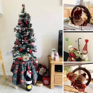 Christmas at Drakestone Cottage - Karen's Kottages - Northumberland - dog friendly - christmas tree