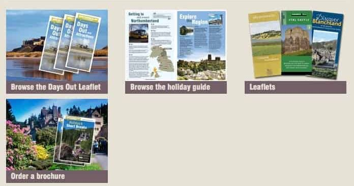 Karen's Kottages - Visit Northumberland - holiday cottage to do leaflets