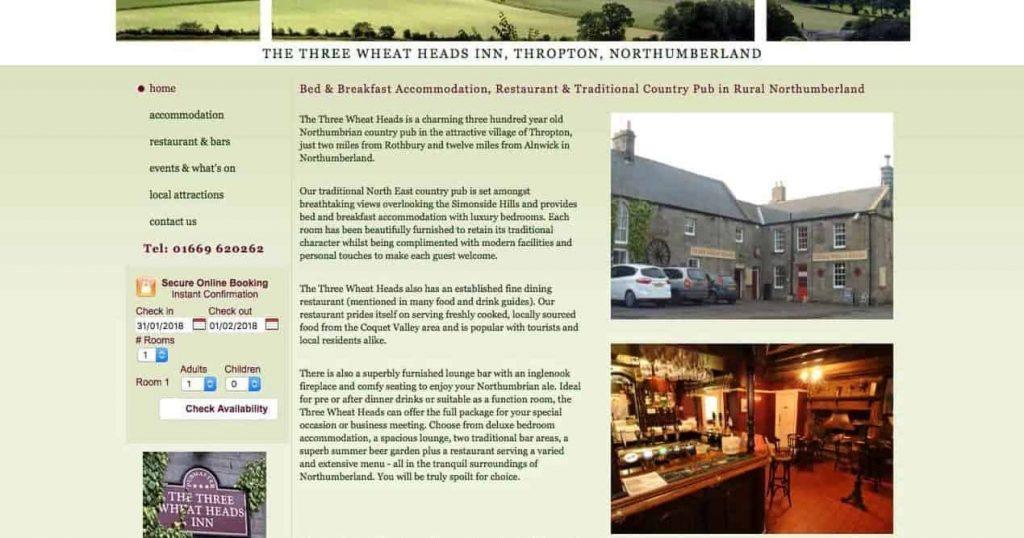 Pubs near Drakestone Cottage Northumberland. Karen's Kottages