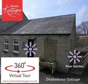 Karen's Kottages - Drakestone Cottage - Northumberland National Park - 360 video tour - dog friendly