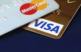 We now accept Visa and MasterCard payments