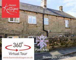 Karen's Kottages in Northumberland - Stanegate Cottage near Hadrian's Wall - dog friendly