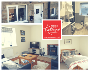 Stanegate Cottage in Northumberland. Dog friendly. Karen's Kottages. multi photo