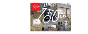 Our 150th Booking!