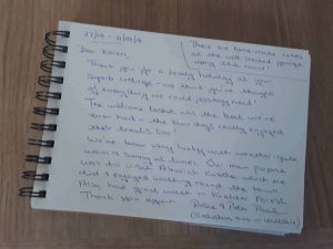 Karen's kottages northumberland Drakestone Cottage guestbook Review dog friendly