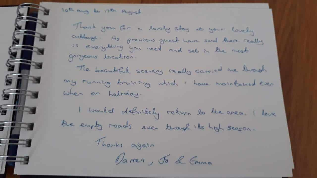 karens kottages - Northumberland - Drakestone Cottage customer feedback - dog friendly
