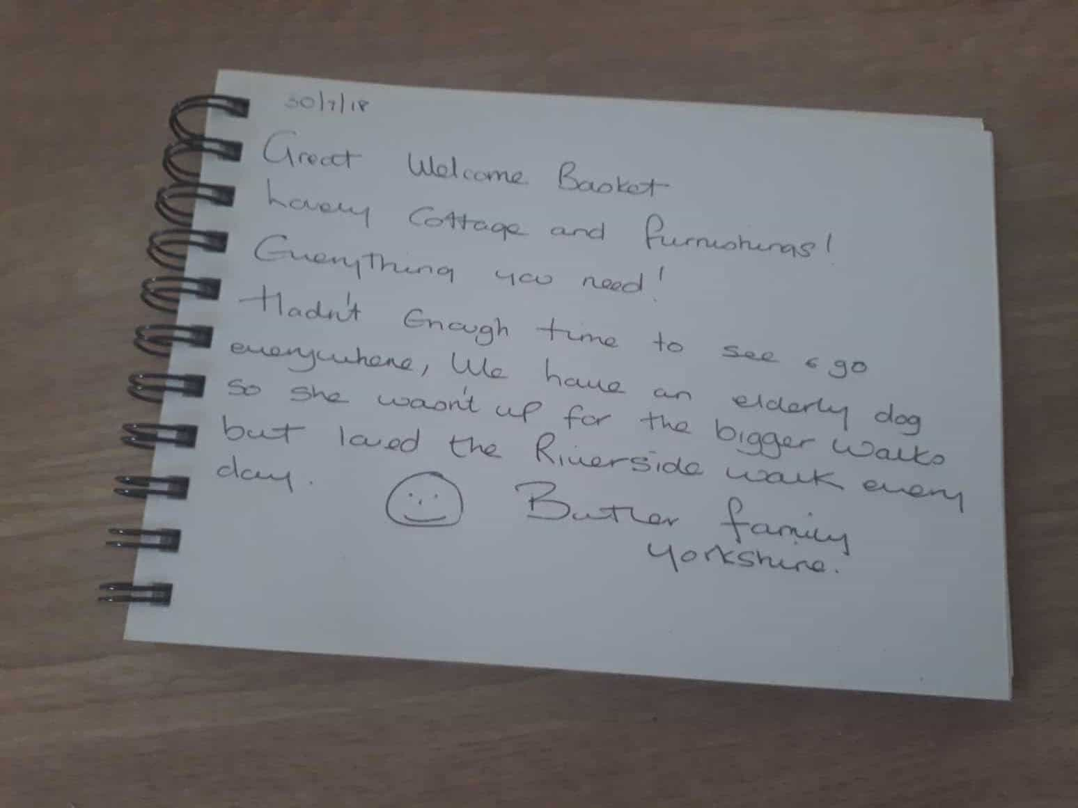 karens kottages - northumberland - drakestone cottage - stanegate cottage - dog friendly - customer review