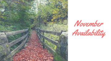 November availability