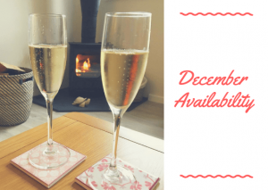 december availability - karens cottages - northumberland - self catering holiday cottage accommodation - dog friendly