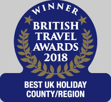 northumberland gold award - best uk region county destination - british travel awards