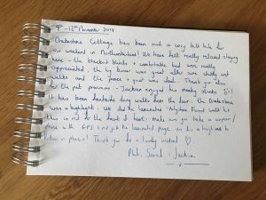 karen's cottages - drake stone cottage customer guestbook review - dog friendly self catering holiday cottage accommodation in Northumberland