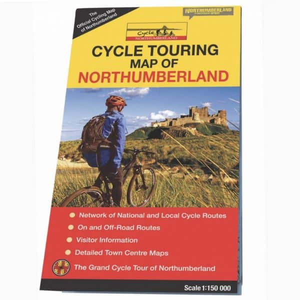 cycling map - 12 days of Xmas image offer - northumberland - self catering holiday cottages - dog friendly - karen's kottages - advent