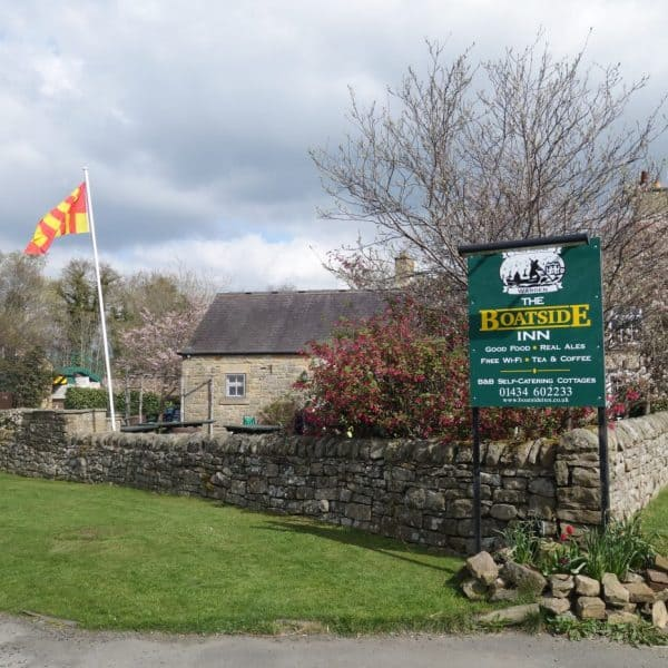 The Boatside Inn - karens kottages - dog friendly holiday cottage accommodation in Northumberland near Hadrian's Wall and Hexham