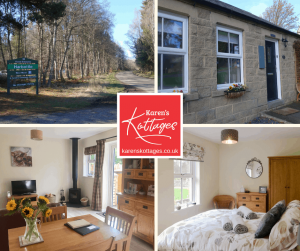 Karen's Kottages - Drakestone Cottage - Northumberland National Park near Rothbury in Harbottle - Kielder - Alnwick - hadrians wall - stargazing - dog friendly - walking - cycling