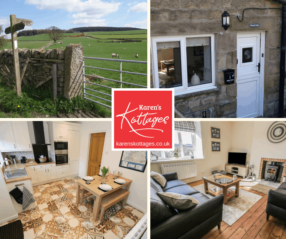 Karen's Kottages - self catering holiday cottage in Northumberland near Hadrian's Wall - Vindolanda - Kielder - Beamish - Fourstones - Hexham