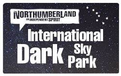 International Dark Sky Park - Northumberland - stargazing - astrophotography - self catering dog-friendly holiday cottages in Northumberland - dark sky friendly